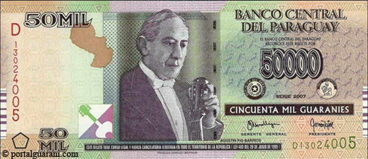 Barrios on currency