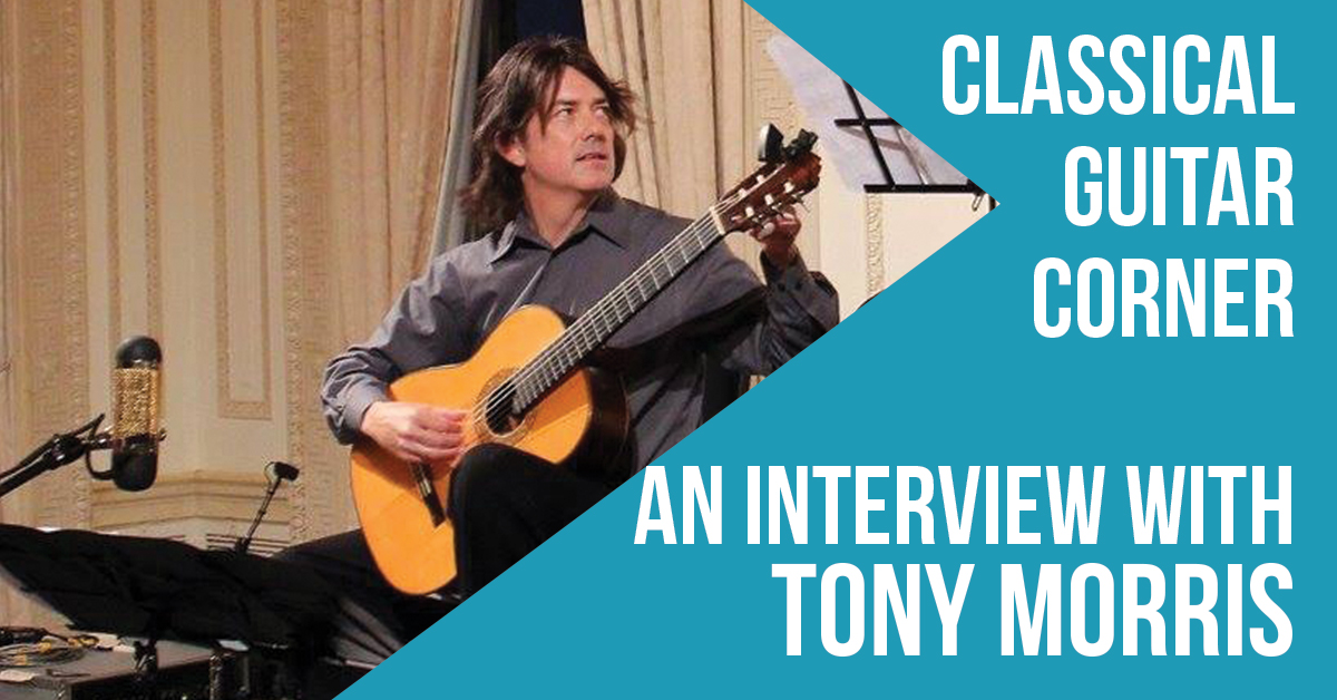 CGC 072 : Tony Morris and Classical Guitar Alive!